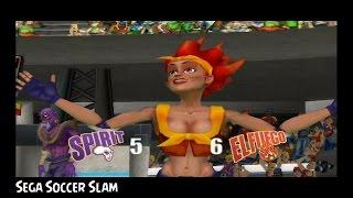 Sega Soccer Slam Gamecube - Mario Strikers: Sega Edition