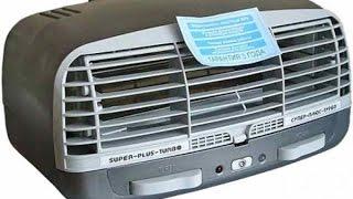 видео Очиститель-ионизатор воздуха Супер Плюс Турбо
