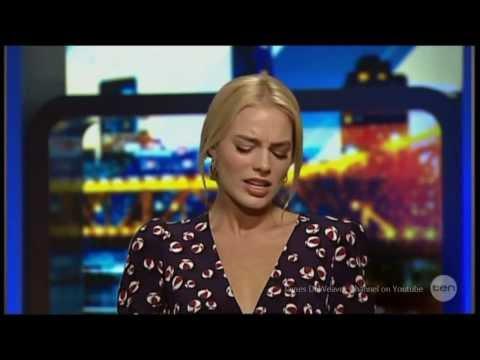 "Margot Robbie ""Armpit Vagina's"" Australian Tv Interview 20-1-2014"