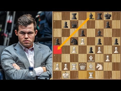 He Who Dares, Wins! | Caruana vs Carlsen 2018. | Game 12