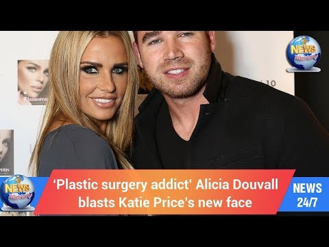 Today's World: 'Plastic surgery addict' Alicia Douvall blasts Katie Price's new face