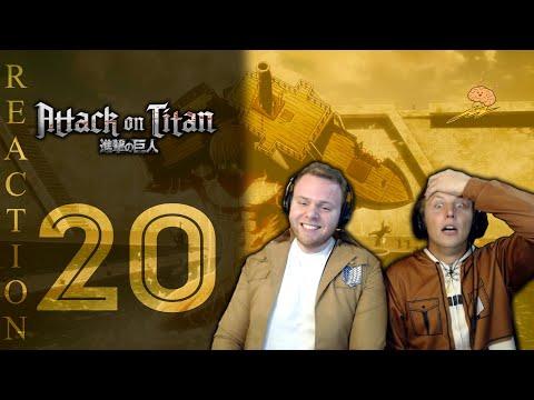 SOS Bros React - Attack on Titan Season 3 Episode 20 - Answers...