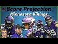 Fantasy Football 2019 - Minnesota Vikings Score Projection