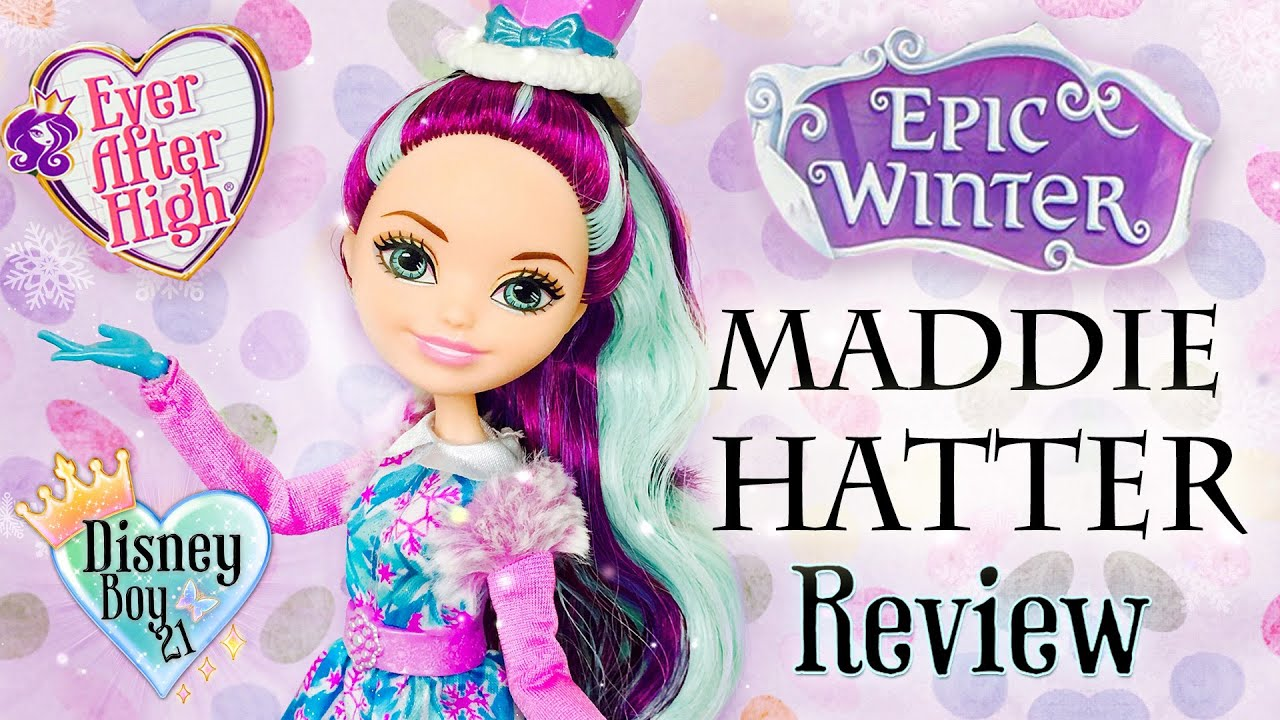 Ever After High Epic Winter Madeline Hatter Doll Review