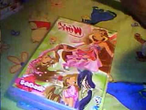 My winx club dvd collection 2