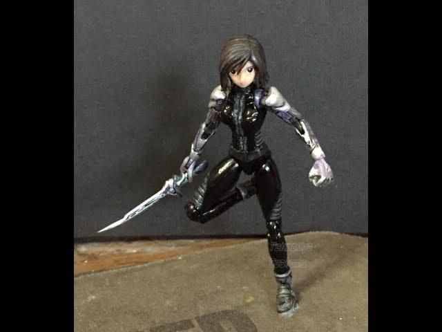 ALITA  Battle Angel - Movie 1/18 Scale Action Figure - Super Articulated Custom