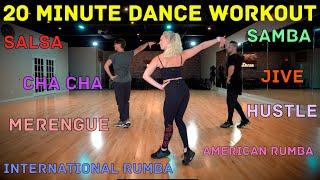 Download lagu 20 Minute Beginner Dance Workout - Hustle, Salsa, Merengue, Cha Cha, Rumba and Jive | Follow Along