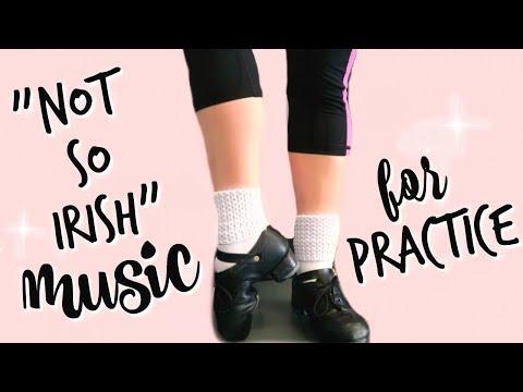 Pop Music for IRISH DANCE Practice - Make Drills Fun! |  Cait B