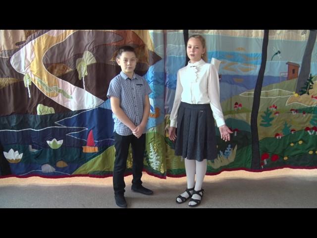 Изображение предпросмотра прочтения – «Учащиеся ГБОУ Школа №1770 г.Москвы» читают произведение «Волк на псарне» И.А.Крылова