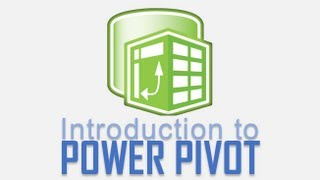 introduction to power pivot for excel