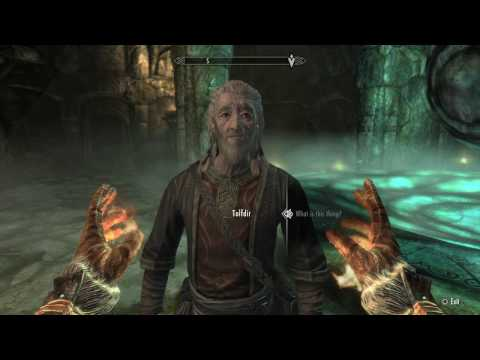 Skyrim special edition: Under Saarthal quest guide with Tolfdir (Pt.3)