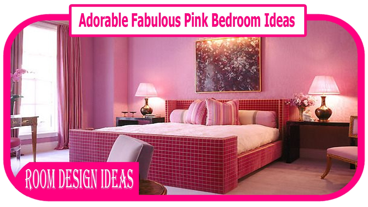 Pink Bedroom Furniture Adorable Fabulous Pink Bedroom Ideas Cool Designing Home