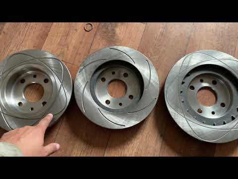 Слотированные тормозные диски / Лучше?