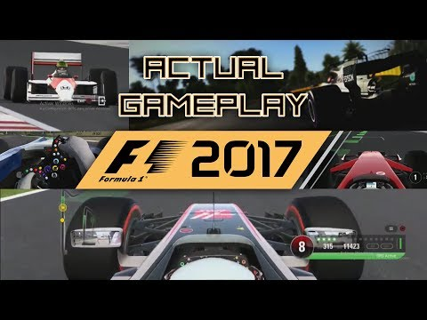 F1 2017 ACTUAL GAMEPLAY + E3 LEE MATHER INTERVIEW + MORE CLASSIC DLC TRAILER!