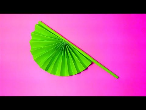 How to Make  paper Fan with paper step by step (Easy) ||