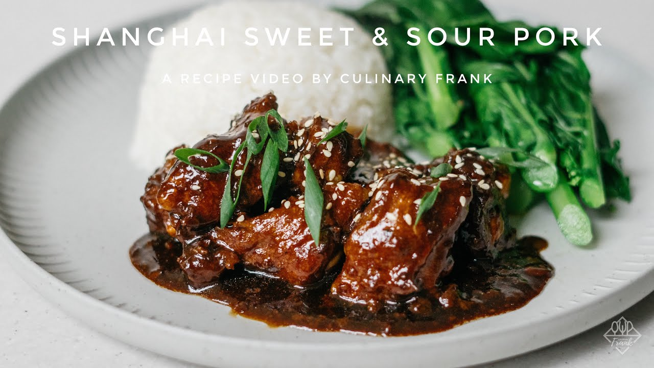 Sườn Xào Chua Ngọt | Kiểu Thượng Hải | ASMR Cooking