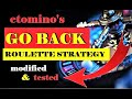 """BEST Roulette Strategy EVER to Win   Modified """"GO BACK"""" Roulette Strategy   Online Roulette Strategy"""