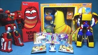 Larva & toys 춤추는 라바 로봇 장난감 카봇 아반떼 Y 아장아장 뽀로로 달콤한 선물 로보카폴리 또봇 R 장난감 larva toys