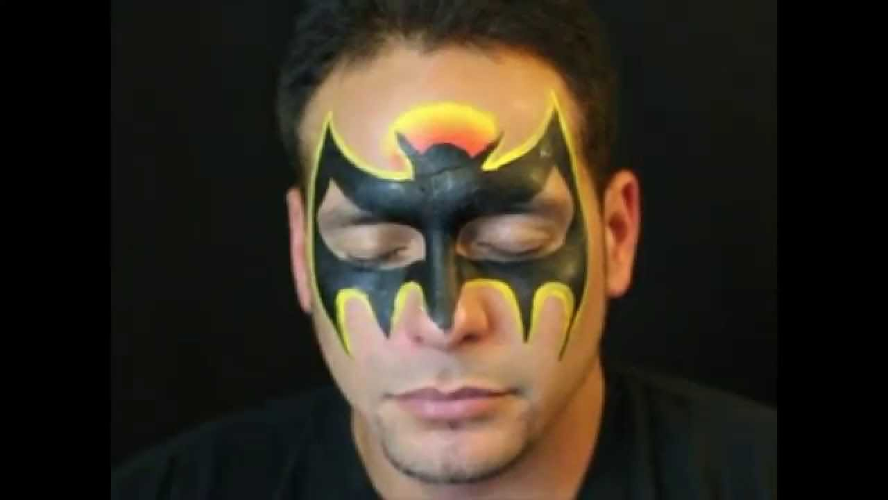 Arm painting spiderman arm face painting body art photo by quick batman mask face paint tutorial youtube baditri Images