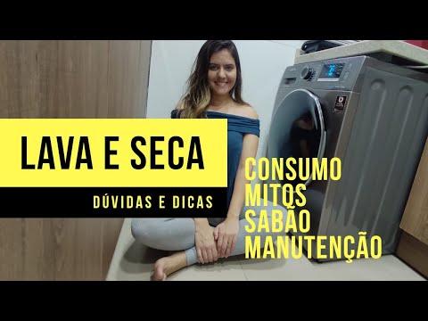 LAVA E SECA SAMSUNG - AUMENTA A CONTA DE LUZ ?