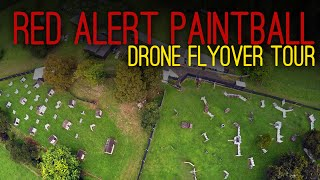 Drone Flyover - Red Alert Paintball Field