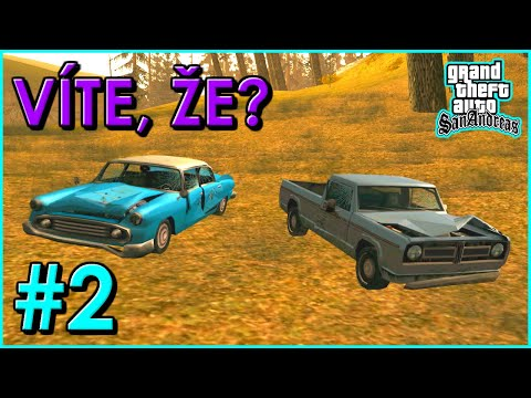 GTA San Andreas - Víte, že? #2