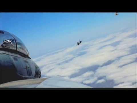 Iranian F-14 air combat agianst Iraqi MiG-21 over Persian Gulf