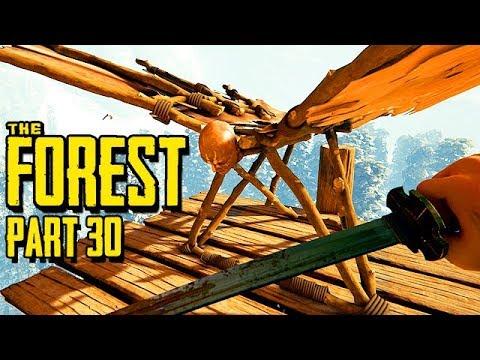 The Forest Gameplay German Story Mode - Gleiten vom höhsten Punkt
