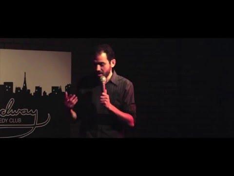 Matt Nagin At Broadway Comedy Club, October 2015