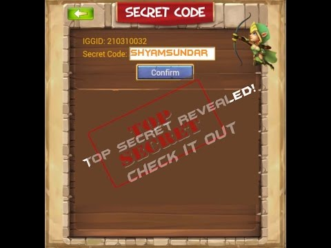 Castle Clash - Secret Code Revealed For Secret Code Event