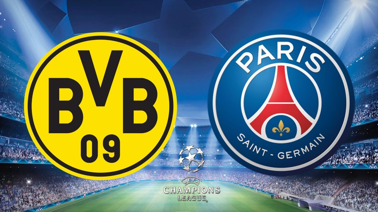 Image result for Borussia Dortmund vs Paris Saint-Germain Champions League Round of 16