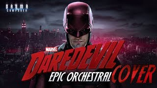 Gambar cover DAREDEVIL Opening Titles Theme | Epic Orchestral Cover