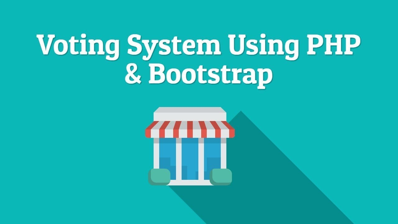 Download Responsive Voting System Using PHP & Bootstrap