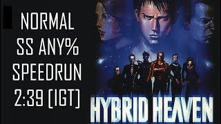 Hybrid Heaven - SS Normal Any% Speedrun [2:39 IGT] [2:37:29 RTA]