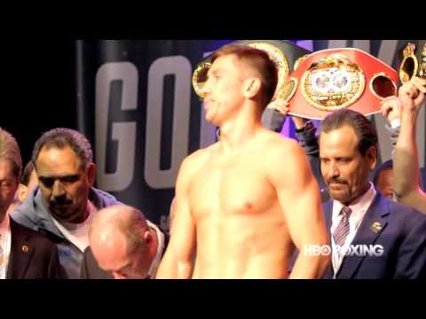 HBO Boxing News: Golovkin And Brook Weigh-In