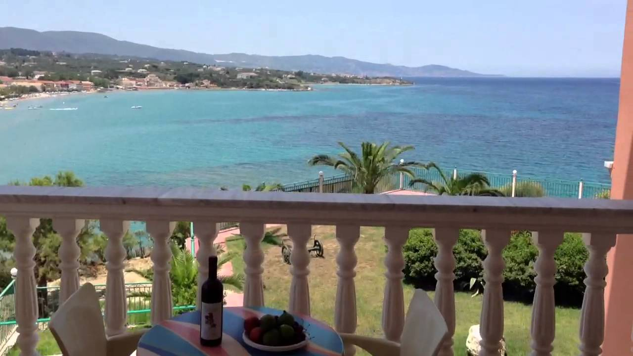 Greece zakynthos tsivili hotel balcony 2 youtube for The balcony zante