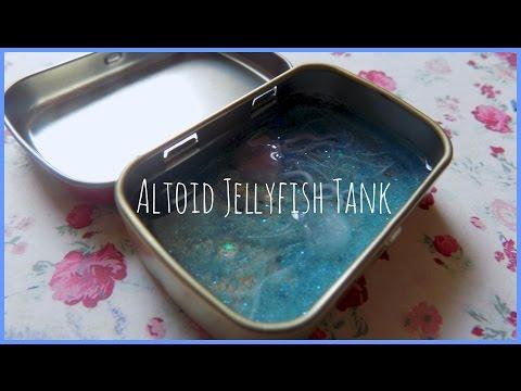 Altoids Jellyfish Aquarium