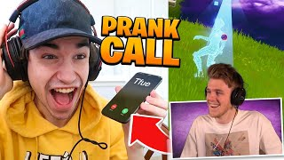 I PRANK CALL a FAMOUS YOUTUBER every time I die in Fortnite #2