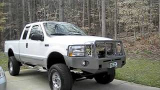 Test Drive Custom 2002 Ford F-250 XLT (Interior and Exterior Shots)