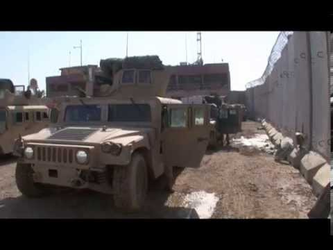 1/4 Bravo, Mounted patrol, Fallujah Iraq 2008
