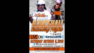 Dancehall Sat Night JAHLION SOUND MOVEMENTS & KRUNKMASTER live SIRIUS XM