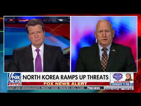 General Jerry Boykin on the Rising Tensions with North Korea