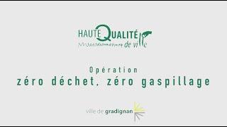 Ville de Gradignan - Zéro Déchet