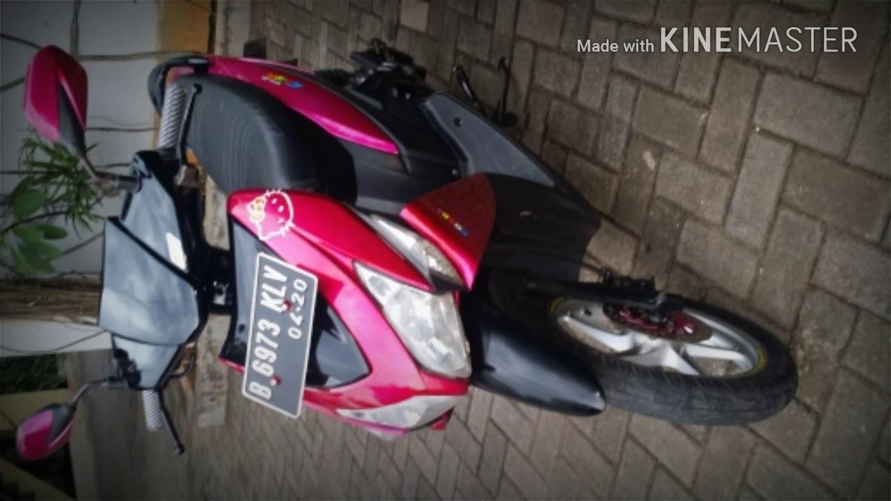 Motor Modifikasi Terkini Modifikasi Motor Vario 110 Warna Pink