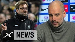 Besserer Trainer als Jürgen Klopp? Nun spricht Pep Guardiola |  Manchester City - FC Liverpool