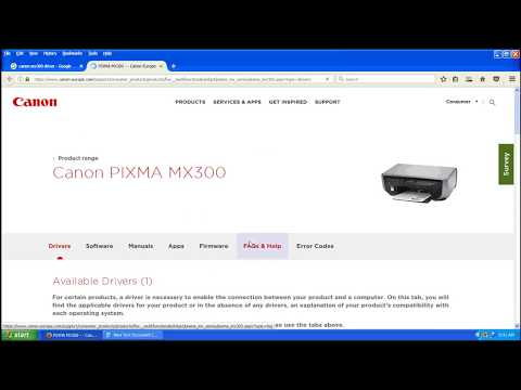 CANON MX300 SCANNER SOFTWARE DRIVER UPDATE