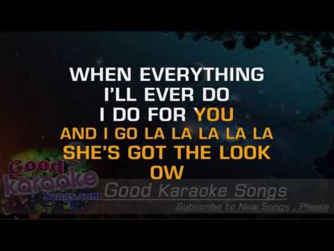 The Look -  Roxette (Lyrics Karaoke) [ goodkaraokesongs.com ]