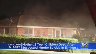 Murder-suicide Confirmed As Cause Of Death For Family Found In Elmhurst House Fire