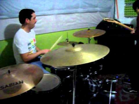 Foals - Red sock Pugie ( cover)