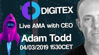 Digitex Futures - Live AMA with Adam Todd - Countdown to Launch